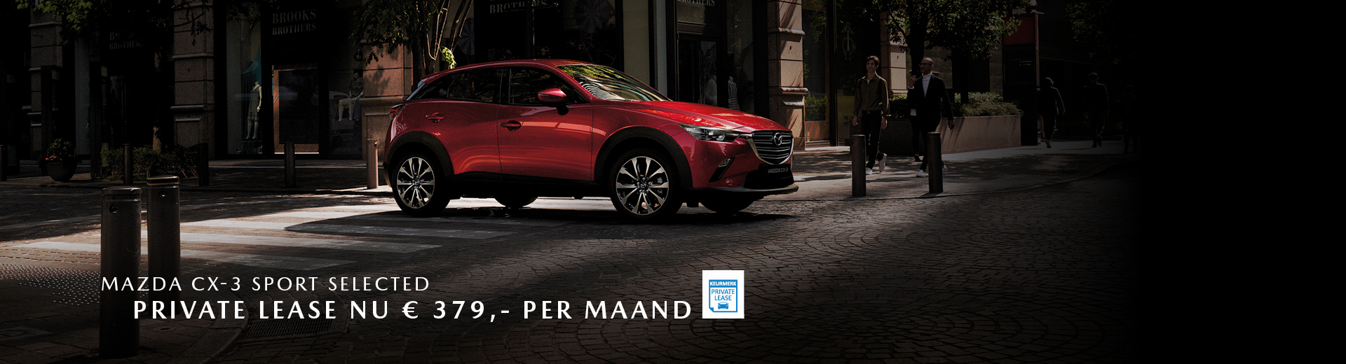 180854 Mazda Nieuwe stijl 2019_Banner 1920x520px_Private lease_Mazda CX-3 [opmaak 01]