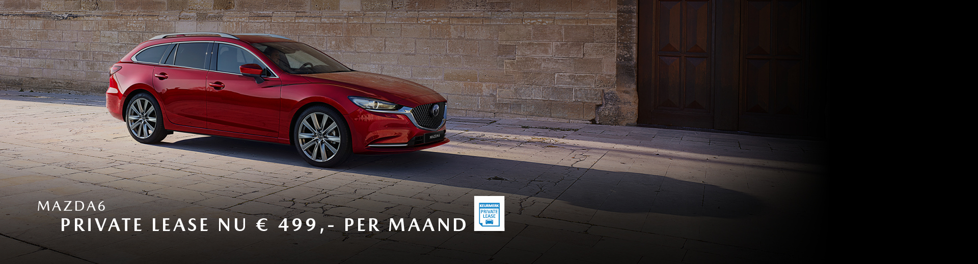 180854 Mazda Nieuwe stijl 2019_Banner 1920x520px_Private lease_Mazda6 [opmaak 01]