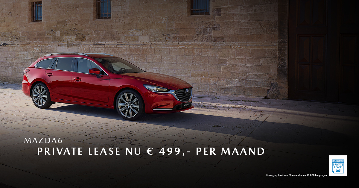 180854 Mazda Nieuwe stijl 2019_Facebookpost 1200x628px_Private lease_Mazda6 [opmaak 01]