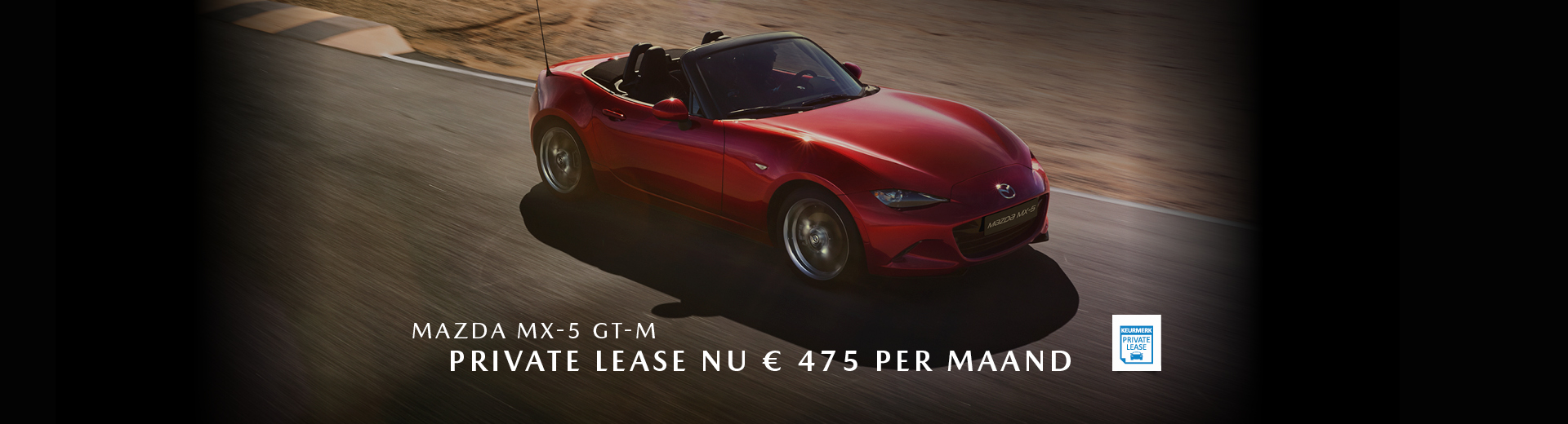 190283 Mazda Q3_Banner Mazda MX-5 GT-M_Private Lease_1920x520px [opmaak 01]