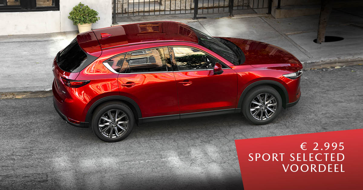 190573 Mazda Q1 - Facebookposts Mazda CX-5 Sport Selected - 1200x628px [opmaak 01]